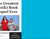 The Greatest 401(k) Book Sequel Ever, by Ary Rosenbaum – Chapter 3