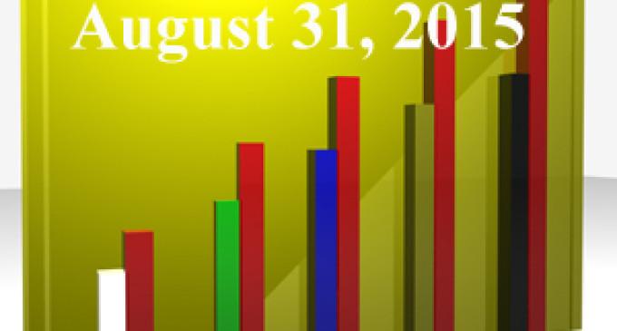 FiduciaryNews Trending Topics for ERISA Plan Sponsors: Week Ending 8/28/15